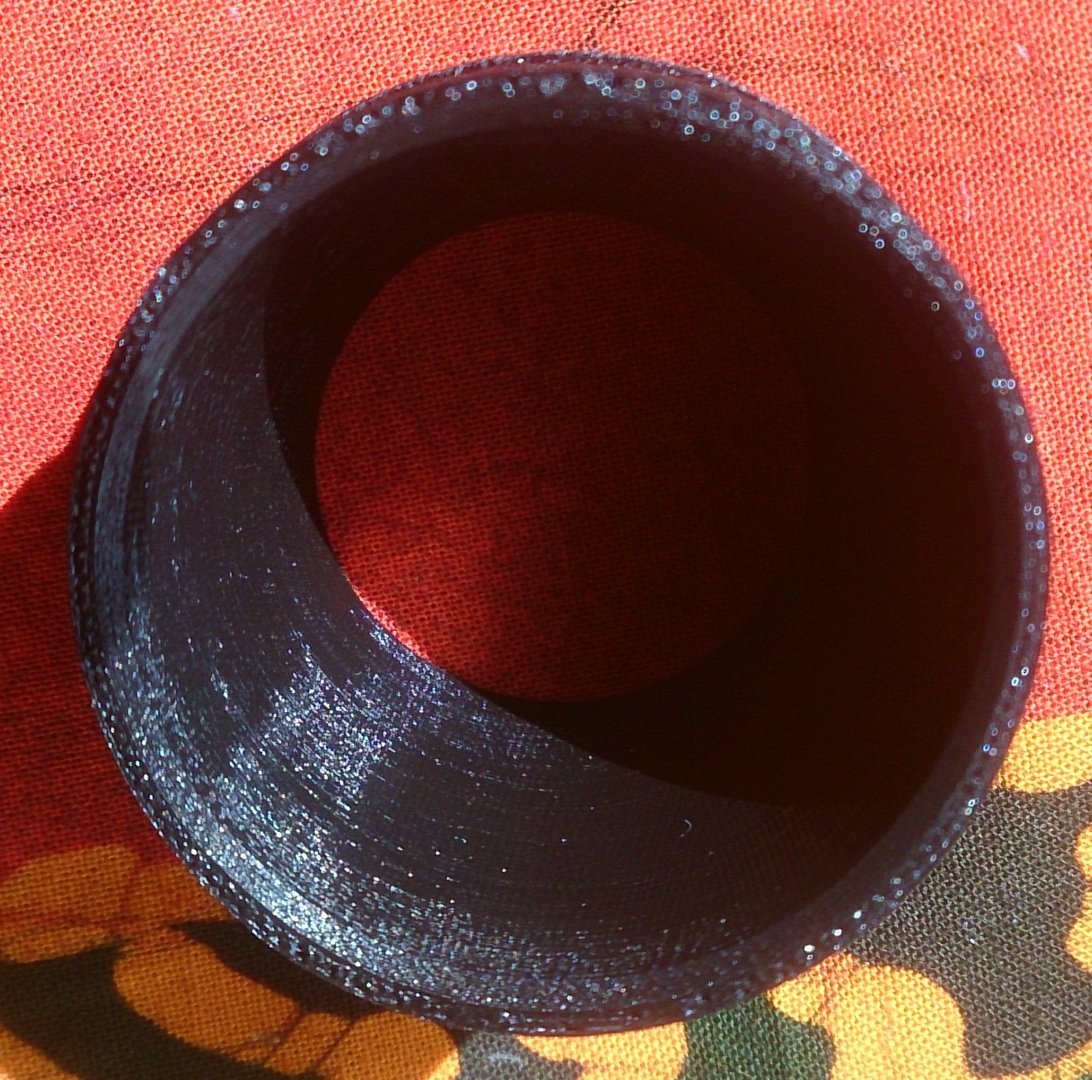 Mouthpiece for 50 mm plastic tubes